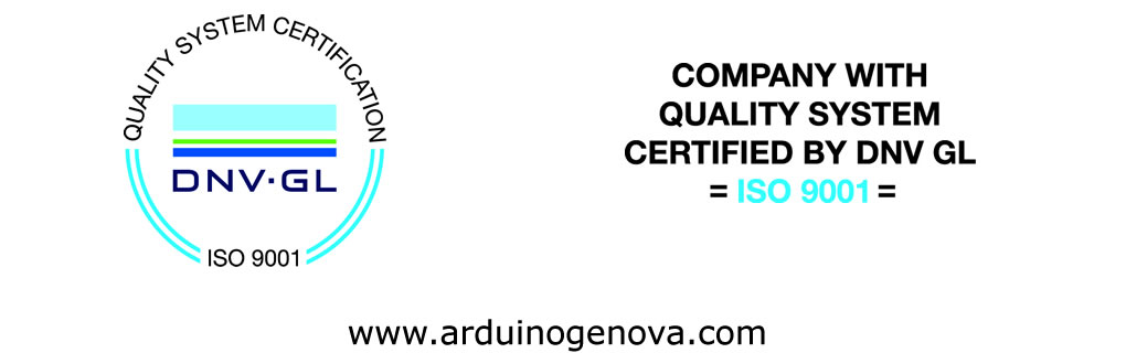 Quality system certified by DNV-GL